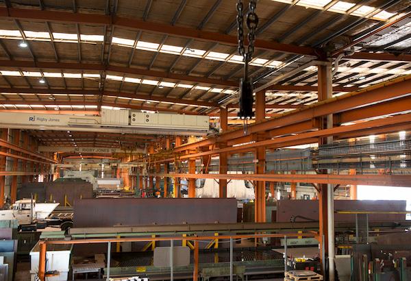 Factory of Steel supplies