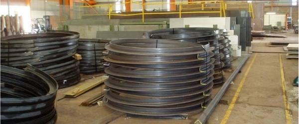 Supply of round steels