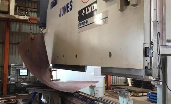 Metal steel presser